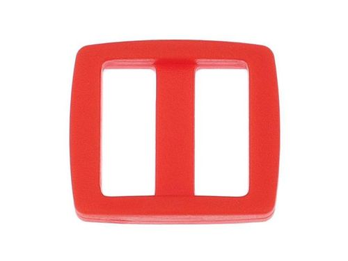 "1 x Red Acetal Tri-Glide - 19mm 20mm (3/4"") 8mm deep"