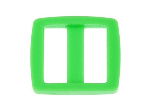 "1 x Green Acetal Tri-Glide - 19mm 20mm (3/4"") 8mm deep"
