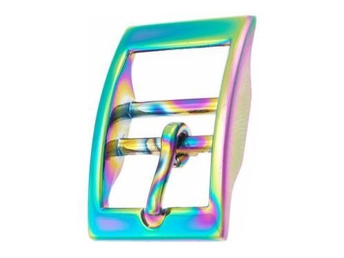 "Rainbow Caveson Collar Buckle - Square Edge - 20mm  (3/4"")"