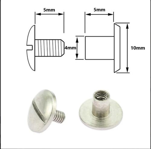Chicago Screw Stainless Steel 5mm